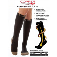 Ciorapi compresivi Cooper Fit
